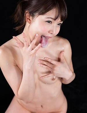 Shino Aoi Covers Dick with Sticky Cum with Her Mouth